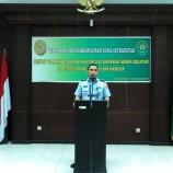 Pencanangan Zona Integritas di Pengadilan Militer I-06 Banjarmasin