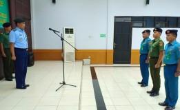 ACARA PELAPORAN KENAIKAN PANGKAT  DI PENGADILAN MILITER I-06 BANJARMASIN