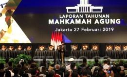 SIDANG ISTIMEWA LAPORAN TAHUNAN MAHKAMAH AGUNG REPUBLIK INDONESIA TAHUN 2019