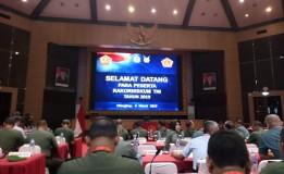 RAPAT KOORDINASI TEKNIS HUKUM (RAKORNISKUM) TNI TAHUN 2019