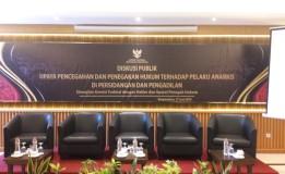 DISKUSI PUBLIK OLEH KOMISI YUDISIAL REPUBLIK INDONESIA