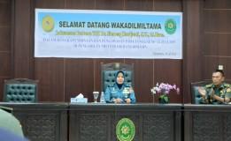 PEMBINAAN DAN PENGAWASAN WAKADILMILTAMA LAKSAMANA PERTAMA TNI DR. HJ. SINOENG HARDJANTI, S.H., M.Hum. DI DILMIL I-06 BANJARMASIN