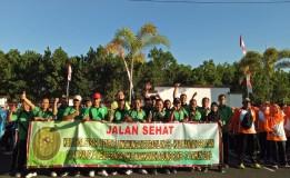 JALAN SANTAI DALAM RANGKA MENYAMBUT HUT KE 74 MAHKAMAH AGUNG REPUBLIK INDONESIA