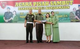 PISAH SAMBUT DANDENPOM VI/2 BANJARMASIN