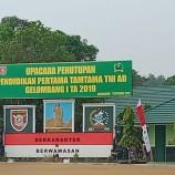 UPACARA PENUTUPAN PENDIDIKAN PERTAMA TAMTAMA TNI AD GELOMBANG I TA 2019