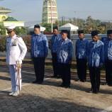 UPACARA PERINGATAN HARI ULANG TAHUN TENTARA NASIONAL INDONESIA KE 74