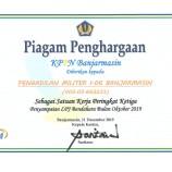 APRESIASI KPPN TERHADAP PENYAMPAIAN LPJ BENDAHARA BULAN NOVEMBER 2019