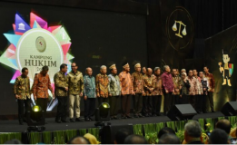 PAMERAN KAMPUNG HUKUM 2020 MAHKAMAH AGUNG RI DAN TALKSHOW E-LITIGASI