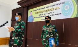 PENYUMPAHAN DAN PELANTIKAN SERTA PELAPORAN RESMI WAKIL KEPALA PENGADILAN MILITER I-06 BANJARMASIN