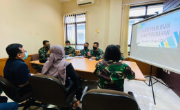 RAPAT PENENTUAN AGEN PERUBAHAN TAHUN 2020  DI PENGADILAN MILITER I-06 BANJARMASIN