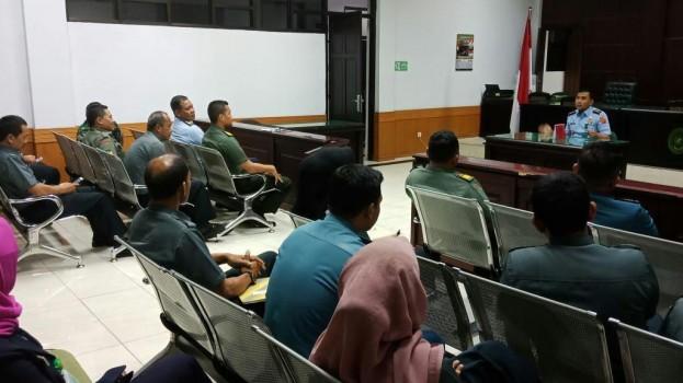 Evaluasi Assesment Akreditasi Penjaminan Mutu Pengadilan Militer I-06 Banjarmasin