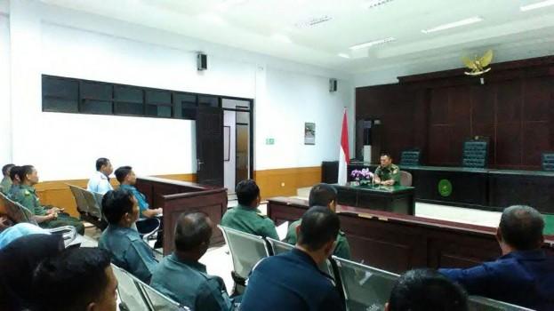 Perkenalan Kepala Pengadilan Militer I-06 Banjarmasin