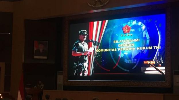 SILATURAHMI PANGLIMA TNI DENGAN KOMUNITI PERWIRA TNI