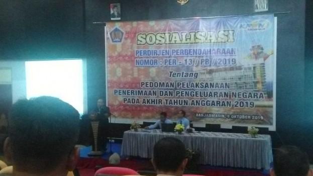 SOSIALISASI LANGKAH-LANGKAH MENGHADAPI AKHIR TAHUN ANGGARAN 2019