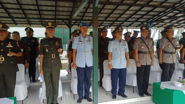 UPACARA PEMBUKAAN PENDIDIKAN PERTAMA TAMTAMA TNI AD GEL II T.A 2019