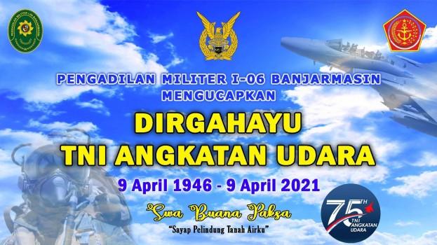 DIRGAHAYU TNI ANGKATAN UDARA