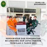 PENGAWASAN DAN PENGAMATAN KE LEMASMIL DAN LAPAS PERIODE TRIWULAN II TAHUN 2021